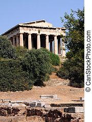 Ancient Temple of Hephaestus