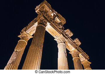 Ancient temple - The ruins of ancient temple of Apollo in...