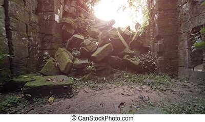 """Ancient Temple Ruin in Cambodia - """"Ancient and enormous,..."""