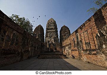 Ancient temple Thailand