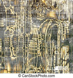 Ancient textured background or shabby backdrop. With different color patterns: yellow (beige); brown; gray; black; white