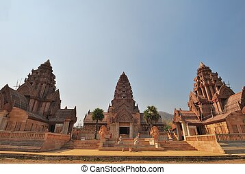 Ancient Thai Buddhist temple