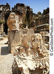 Ancient theater Myra