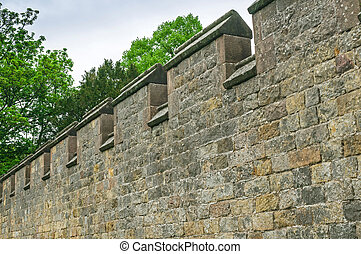 Ancient Town Wall Fortifications