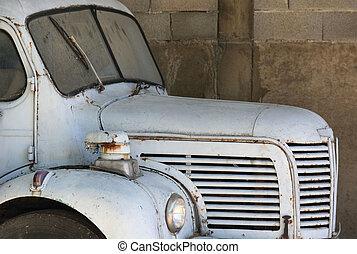 Ancient truck