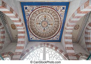 Ancient Turkish interior