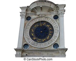 Ancient Venetian clock