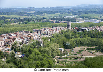 ancient village of Hostalric
