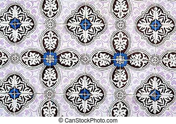 Ancient wall mosaic