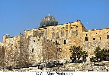 ancient walls of Jerusalem