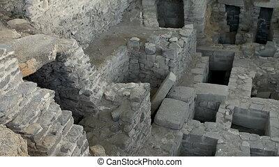 Ancient Wari ruins