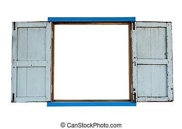 ancient wood windows