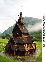 Ancient wooden church