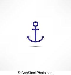 ancorare, icona