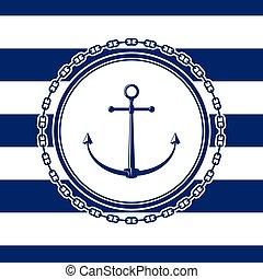 ancre, mer, emblème
