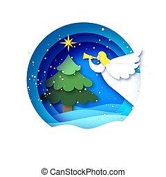 anděl, year., hvězda, -, východ, karta, řezat, vánoce doklady, nezkušený, šťastný, veselý, style., holidays., cetka, zima, blahopřání, comet., kruh, betlém, čerstvý, kopyto., konstrukce, neposkvrněný