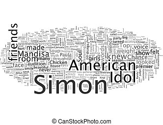 And The Top Too From Chicken Soup For The American Idol Soul text background wordcloud concept
