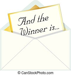 And the Winner is Envelope