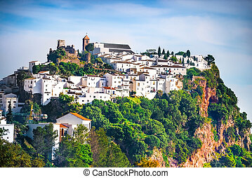 andalusia, case, bianco, spain.