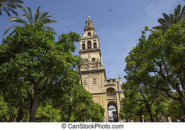 andalusia, church in the square