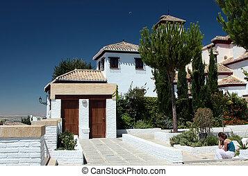 Andalusian noon, Granada, Spain