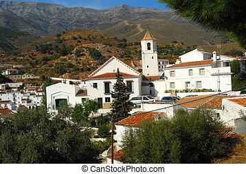 Andalusian village - church