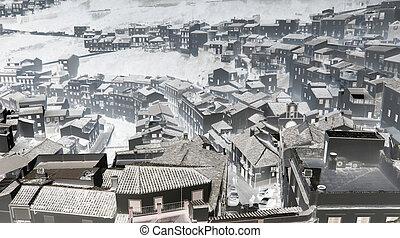 Andalusian village photo