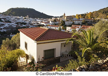 Andalusian village.