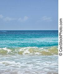 Andaman sea near Karon beach on Phuket island
