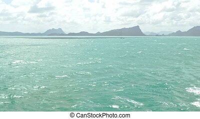 Andaman sea, Thailand. View from the boat - Thailand....
