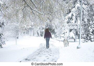 andando cachorro