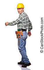 andar, carpinteiro