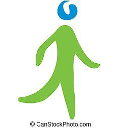andar, símbolo