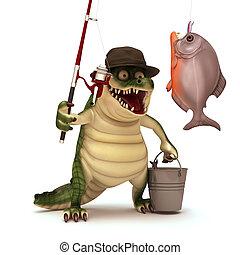 andare, croc, pesca
