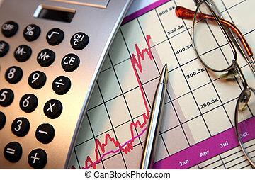 andare, mercati, su, finanziario