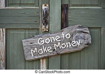 andato, fare, soldi.