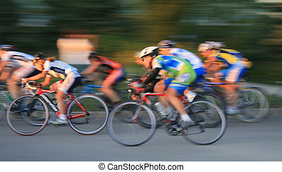 ande bicicleta correr