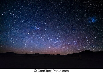 andea, pays montagne, outstandingly, nuages, bolivie, america., capturé, clair, majestueux, magellanic, sud