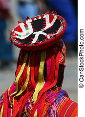 Andean clothes - Detail of andean dancer clothes
