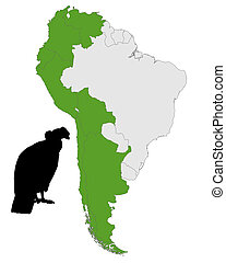 Andean Condor distribution