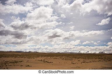 andean, hoogte, hemel, hoog, dramatisch, landscape