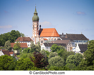 Andechs Monastery - An image of the nice Monastery in...