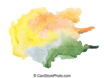 anders, abstract, textuur, watercolor, kleuren, achtergrond