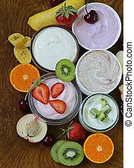 anders, assortiment, yoghurt