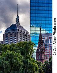 anders, gebouwen, in, boston, massachusetts.