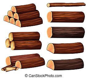 anders, hout, types