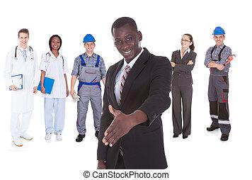 anders, mensen, beroepen