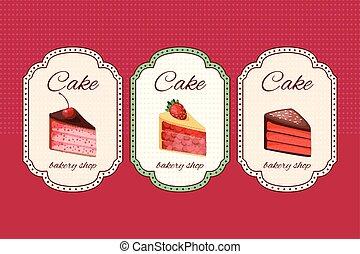 anders, restaurant, menu., jouw, toetjes, aankondigingen, mal, fruits., ontwerp, affiches