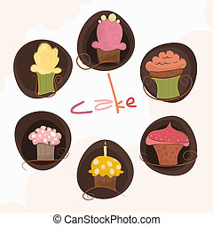 anders, set, cakes, 6