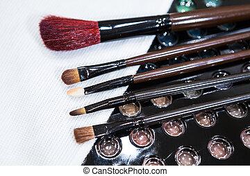 anders, stichting, beauty, maken, borstels, op, accessoires, huid